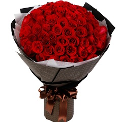 完美的爱-66支精品红玫瑰