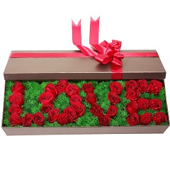 爱情的誓言-33支精品红玫瑰