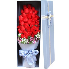 遇见的幸福-33支精品红玫瑰