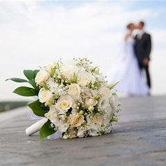 幸福相伴-新娘手捧花