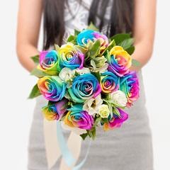 一辈子的承诺-新娘手捧花