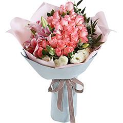 生生世世-33支精品粉玫瑰