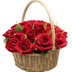 深情款款-19支精品红玫瑰