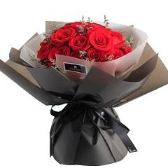 爱的宿命-19支精品红玫瑰