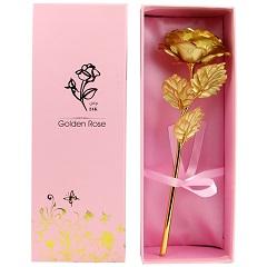 永不凋谢的玫瑰-1支精品金箔玫瑰