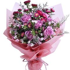 下一个花季-7支精品紫玫瑰