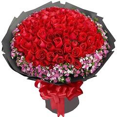 爱你到永远-99支精品红玫瑰