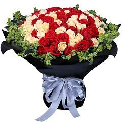 永恒记忆-99支精品混色玫瑰