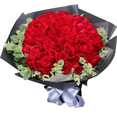 克拉恋人-99支精品红玫瑰