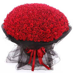 永远爱你-999支精品红玫瑰