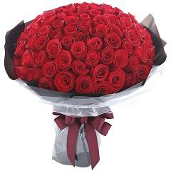 共度一生-108支精品红玫瑰