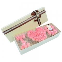 粉色的爱恋-66支精品粉玫瑰