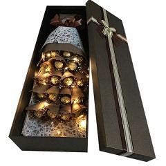 小热恋-19颗巧克力礼盒(带灯发光)