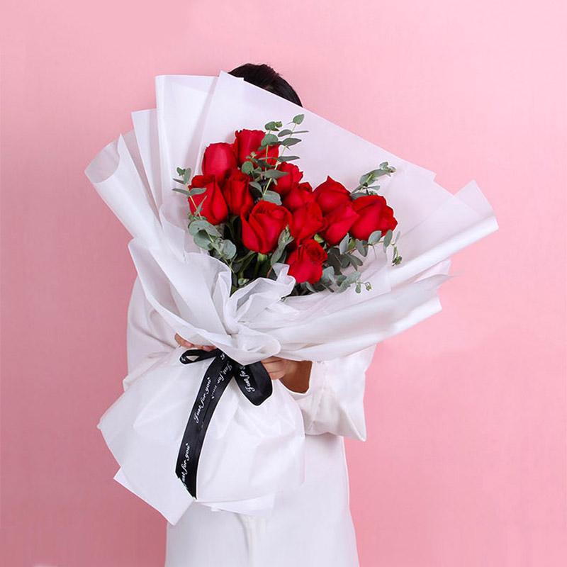邂逅真爱-19支精品红玫瑰
