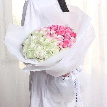 余生长醉-99朵混色玫瑰