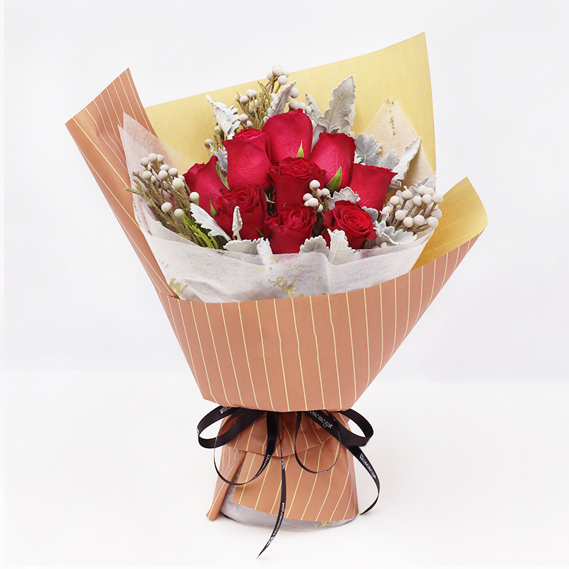 小情歌-9支精品红玫瑰