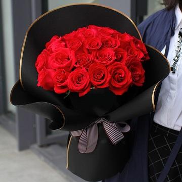 爱你不是两三天-33支精品红玫瑰