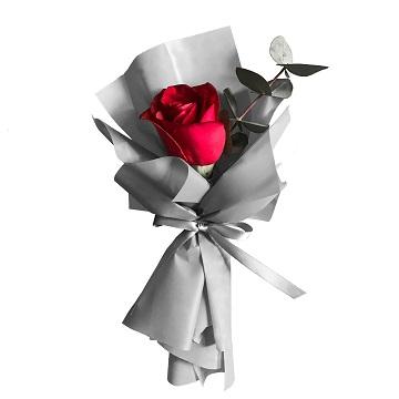 一心一意-1支精品红玫瑰