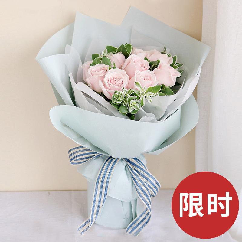 简爱-11支精品粉玫瑰